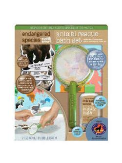 ENDANGERED SPECIES ANIMAL RESCUE BATH SET (LARGE)  4 OZ