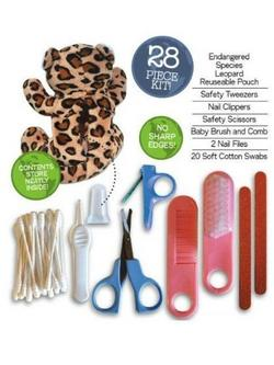 ENDANGERED SPECIES GROOM ME BABY ESSENTIAL-WILD CAT  28 MULTI