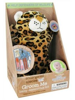 ENDANGERED SPECIES GROOM ME BABY ESSENTIAL-POLAR BEAR  28 MULTI