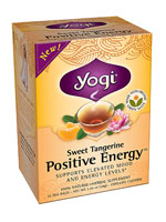 SWEET TANGERINE POSITIVE ENERGY TEA  16 BAG