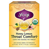 THROAT COMFORT TEA HONEY LEMON  16 BAG