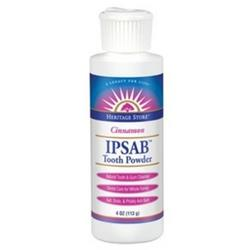 IPSAB TOOTH POWDER CINNAMON  4 OZ