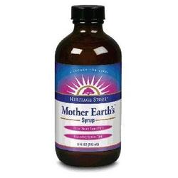 MOTHER EARTHS SYRUP  8 OZ
