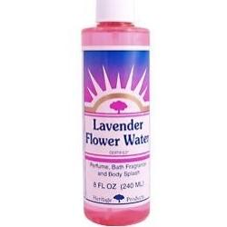 FLOWER WATER LAVENDER W/ATOMIZER  8 OZ