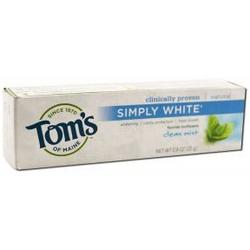 ANTICAVITY FLOURIDE TOOTHPASTE-CLEAN MINT SIMPLY WHITE PASTE TRIAL  0.9 OZ