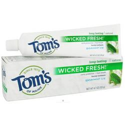 SPEARMINT ICE WICKED FRESH TOOTHPASTE  4.7 OZ