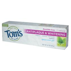 TOOTHPASTE ANTIPLAQUE WHITENING GEL SPEARMINT  4.7 OZ