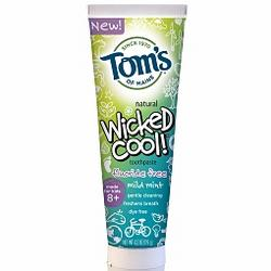 FLUORIDE FREE CHILDREN'S TOOTHPASTE WICKED COOL  4.2 OZ
