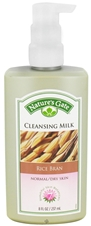 RICE BRAN CLEANSING MILK -NORMAL/DRY SKIN-  8 OZ
