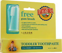 TODDLER TOOTH PASTE STRAWBERRY/BANANA 1.6Z +BR
