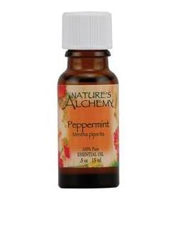 100% PURE ESSENTIAL PEPPERMINT OIL 0.5 OZ