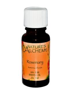 100% PURE ESSENTIAL ROSEMARY OIL 0.5 OZ