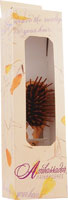HAIRBRUSH OLIVEWOOD MINI W/WOODEN PINS 5116  1 UNIT