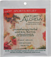 AROMATHERAPY BATH SPORTS RELIEF  1 OZ