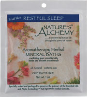 AROMATHERAPY BATH RESTFUL SLEEP  1 OZ
