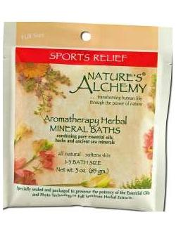 AROMATHERAPY BATH SPORTS RELIEF  3 OZ