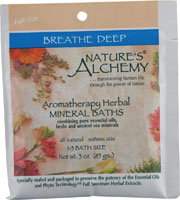 AROMATHERAPY BATH BREATHE DEEP  3 OZ