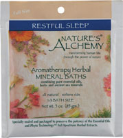 AROMATHERAPY BATH RESTFUL SLEEP  3 OZ