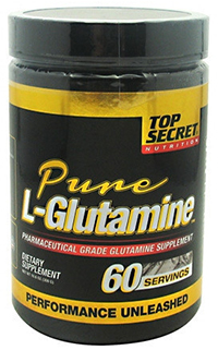 Pure L-Glutamine Jar  300 gm