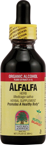 ALFALFA HERB LOW/ALCOHOL 2 OZ