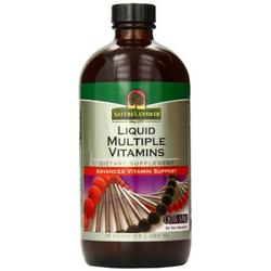 PLATINUM MULTIPLE VITAMINS  16 OZ