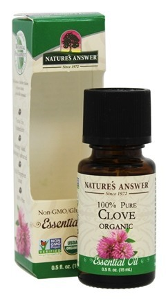 Essential Oil Organic Clove  0.5 oz