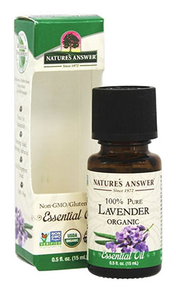 ESSENTIAL OIL ORGANIC LAVENDER  0.5 OZ