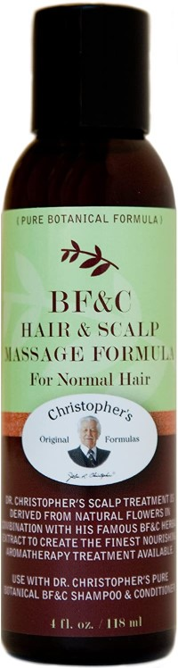 BF&C HAIR & SCALP MASSAGE OIL  4 OZ