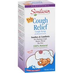 KIDS COUGH RELIEF SYRUP  4 OZ