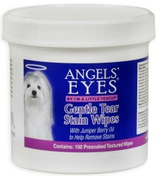 GENTLE TEAR STAIN WIPES  100 CT