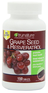 Grape Seed & ResveratrolExtract - 150 Tabs