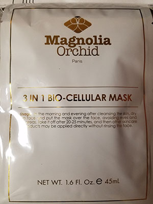 3 IN 1 BIO-CELLULAR MASK 5 PC