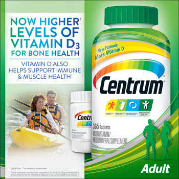 CENTRUM MULTIVITAMIN W/ LYCOPENE  NEW 365+60 TB