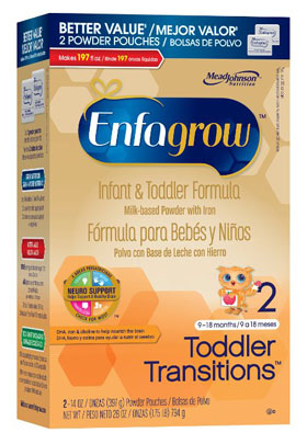 Enfagrow Toddler Transitions Formular  38 OZ