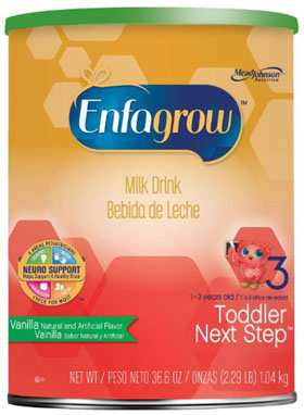 Enfagrow Toddler Next Step Milk Drink Vanilla 36Oz