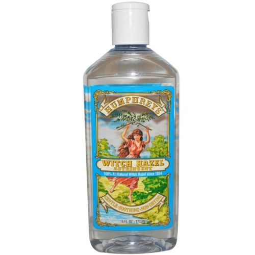 CERTIFIED ORGANIC WITCH HAZEL ASTRINGENT  16 OZ