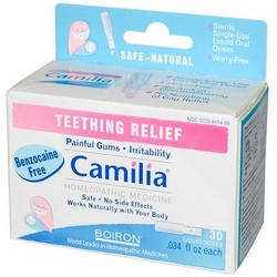 CAMILIA TEETHING  30 DOSE