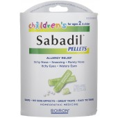 CHILDREN'S SABADIL PELLETS  2 VIAL