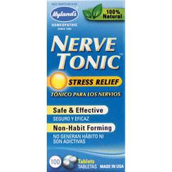 NERVE TONIC STRESS RELIEF 100CAPS