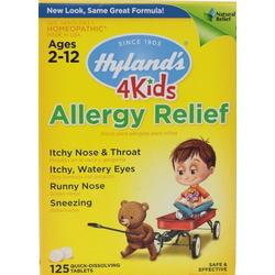 ALLERGY RELIEF 4 KIDS  125 CT