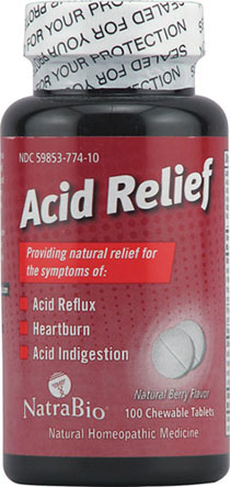 Acid Relief Tab  100 ct