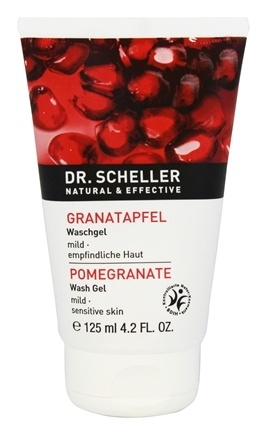 POMEGRANATE CLEANSING WASH GEL FOR MILD SENSITIVE SKIN  4.2 OZ
