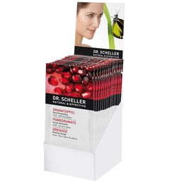 POMEGRANATE CLEANSING FACE EXFOLIATOR SACHETS REFRESHING FOR MILD ALL SKIN TYPES  15 CT