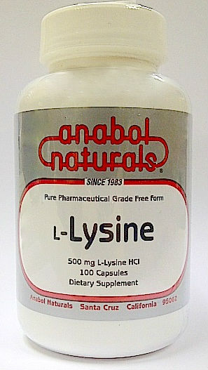 L-LYSINE PURE POWDER  100 GM