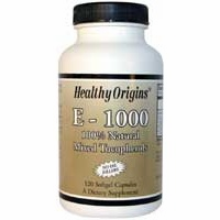 NATURAL VITAMIN E 1000IU 120