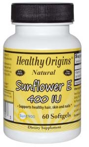 Vitamin E-400 IU (Sunflower) SunE900  60 softgel