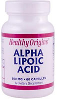 ALPHA LIPOIC ACID 600MG  60 CAP