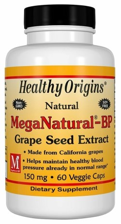 MEGA NATURAL BP-GRAPE SEED EXTRACT 150MG  60 CAP