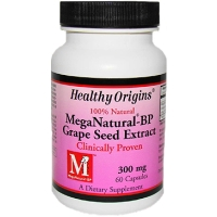 MEGA NATURAL BP-GRAPE SEED EXTRACT 300MG  60 CAP