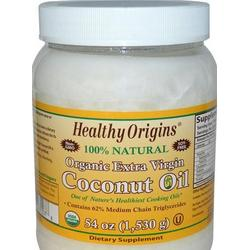 ORGANIC EXTRA VIRGIN COCONUT OIL  54 OZ